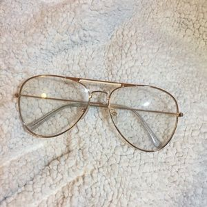 ☆FINAL SALE☆ [tilly's] clear lens glasses